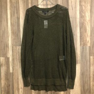 Banana Republic Green lightweight Knit Sweater